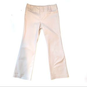 Banana republic tan tailored trousers size 10